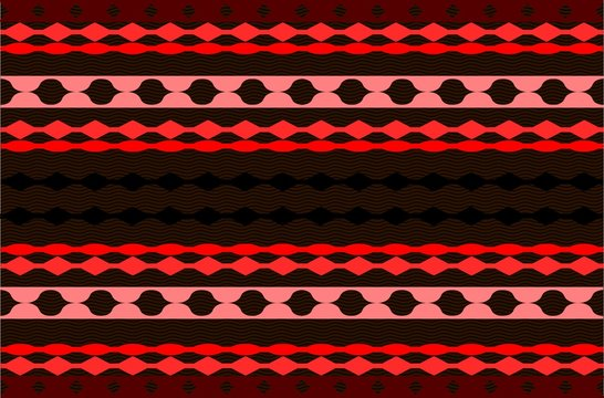 red red pattern