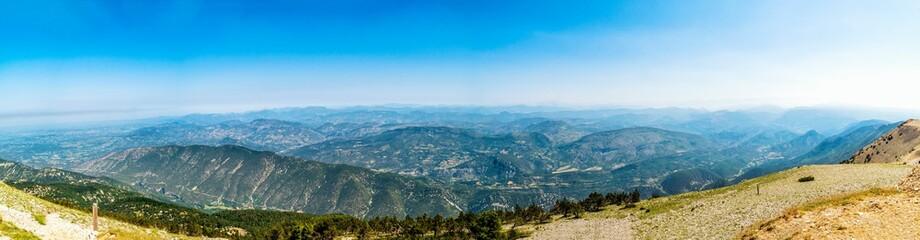 Vom Mont Ventoux Richtung Norden