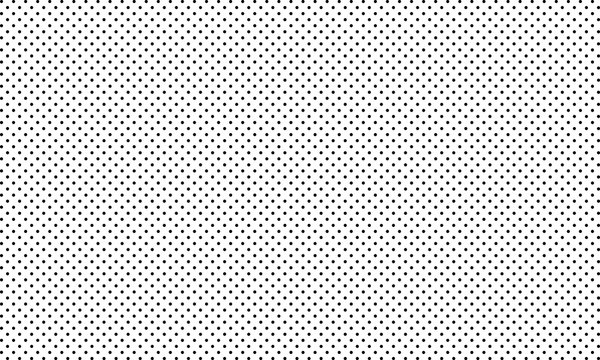 Polka dot pattern vector. Black polka dots