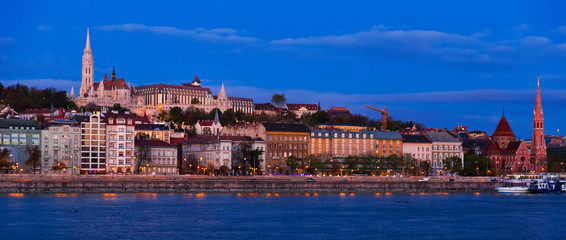 Image of view on Matthias Church and Fisherman Bastion