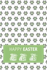 Happy Easter Pattern 2