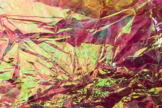psychedelic transparent wrapping paper background