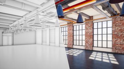 Büro im Loft Style | Revitalierung von alten Industriebrachen