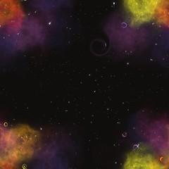 Seamless galaxy pattern