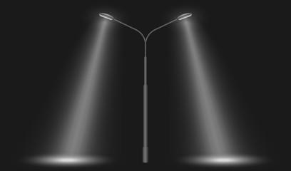 street row led lights Fotomurales