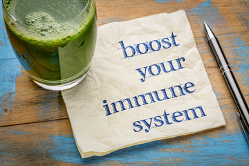 Poster Juice boost your immune system