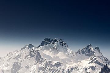 Vorarlberger Alpen Fototapete