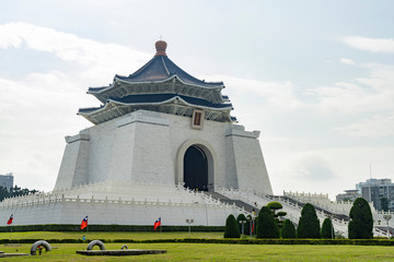 The main building of the National Chiang Kai-shek Memorial Hall