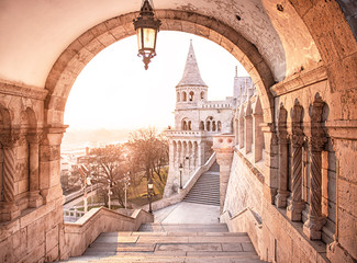 Fisherman's Bastion in the morning