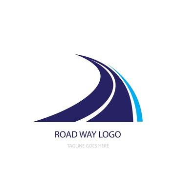 road way logo vector