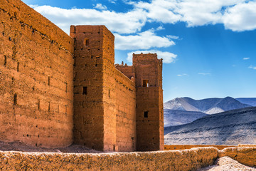 Garden Poster Morocco Old Kasbah forts in Morocco in North Aftica