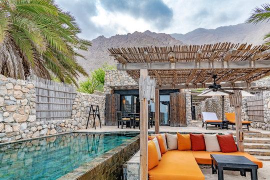 Zighy Bay Resort in Musandam, Oman.