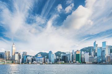 Photo sur Aluminium Hong-Kong Victoria Harbor of Hong Kong