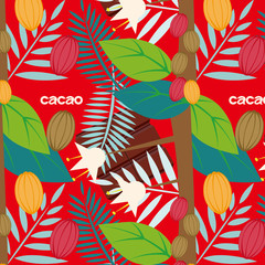 cacao_pattern_red background_text