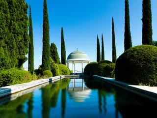Jardin Botanico-Historico La Concepcion in Malaga, Spain