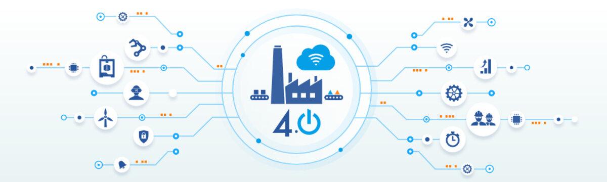 industrie 4.0 - usine du futur - smart industry