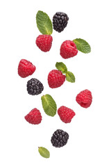 Mix of different berries.