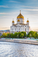 Printed kitchen splashbacks Moscow Cathedral of Christ the Saviour - Moscow, Russia