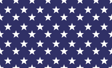 Seamless star pattern background. Repeat vector star american flag wllpaper