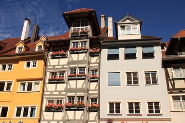 Lindau (Bodensee); Fassaden in der Maximilianstrasse