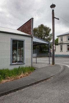 Reefton New Zealand mainstreet