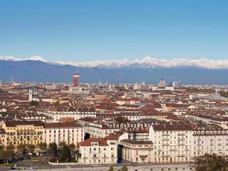 Italy, Turin, skyline