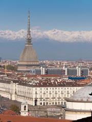 Italy, Turin, Mole, Gran Madre di Dio church