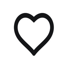 Heart icon . Simple heart , love logo. Love icon sign. Heart icon vector, Love Hearts, Heart icon vector isolated on white background. Heart icon art. Heart icon eps. Heart icon Image. Heart icon logo