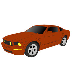 picture of a car on a white background