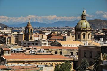 Aluminium Prints Palermo palermo panorama