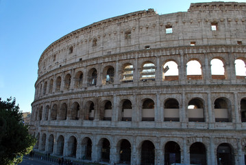 The Coliseum is one of Rome's most popular tourist attractions