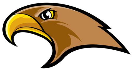 Hawk mascot Fotomurales