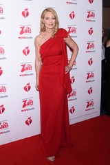Jeri Ryan at arrivals for The American Heart Association's Go Red for Women Red Dress Collection 2020