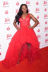 A.J. Andrews at arrivals for The American Heart Association's Go Red for Women Red Dress Collection 2020