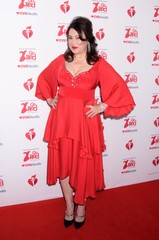 Jennifer Tilly at arrivals for The American Heart Association's Go Red for Women Red Dress Collection 2020
