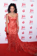 Robin Givens at arrivals for The American Heart Association's Go Red for Women Red Dress Collection 2020