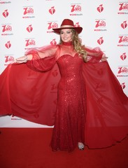 Shania Twain at arrivals for The American Heart Association's Go Red for Women Red Dress Collection 2020