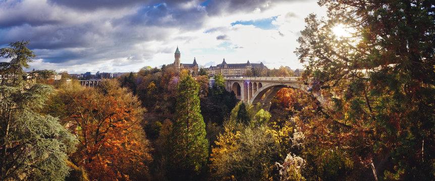 Otoño en Luxemburgo