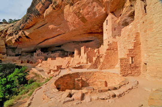 Mesa Verde National Park  - UNESCO World Heritage Site located in Montezuma County, Colorado.