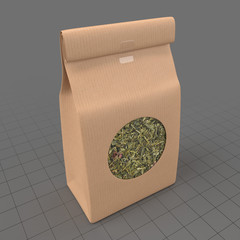 Tea leaves packaging 1