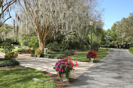 Harry P. Leu Botanical Gardens a  public garden with over 40 diverse plant collections from the world in 50 acres of landscaped grounds.