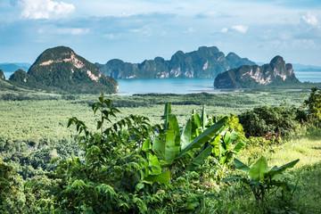 La pose en embrasure Piscine Beautiful scenery in Phuket, Thailand