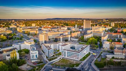 Chemnitzer Innenstadt Fototapete