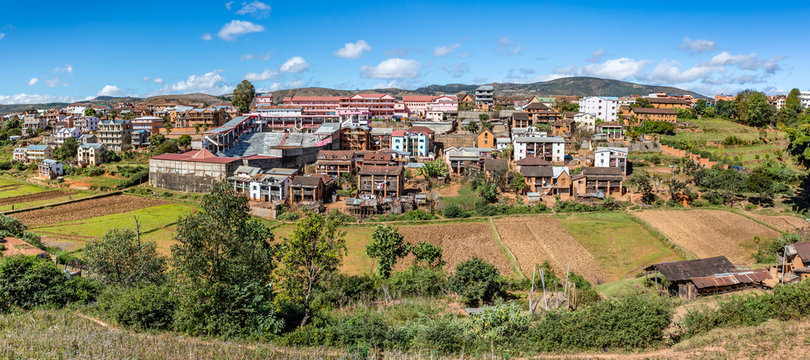 Ambositra, village on the hill