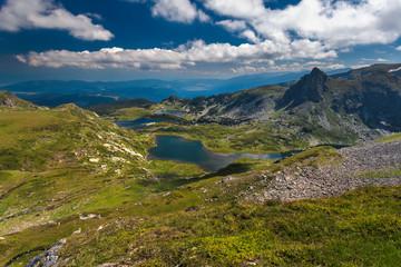 Twin Lakes in Rila Mountains