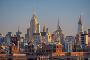Fototapete - New York City midtown skyline - beautiful cityscape