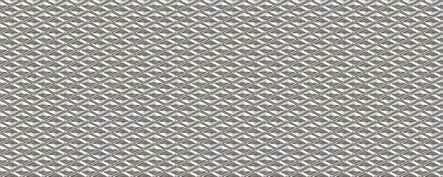 3d material white diamond seamless pattern glass background