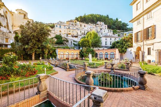 Palazzo Mezzacapo Gardens in Italy, Amalfi Coast