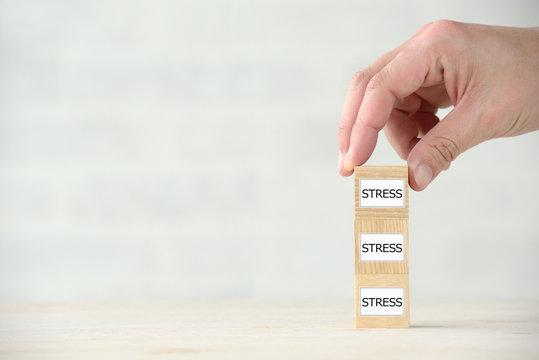 ストレスの増加イメージ
