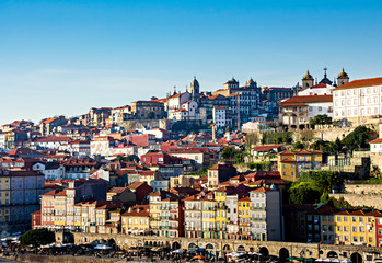 Wall Mural - Porto is a coastal city in northwest Portugal known for its stately bridges and port wine production.